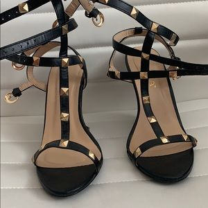 Stud wedge sandals size 7.5